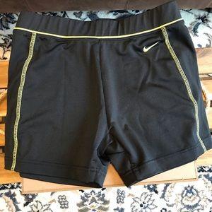 Nike high performance shorts, women's small